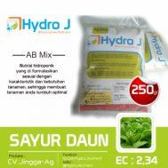 Hydro J Nutrisi Sayuran Daun 500mL Pekatan – 250gr