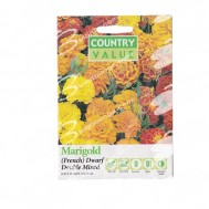 Country Value French Marigold Dwarf Double