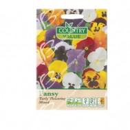 Country Value Pansy Early Flowering Mixed