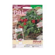 Johnsons Seeds Paprika Patio Red