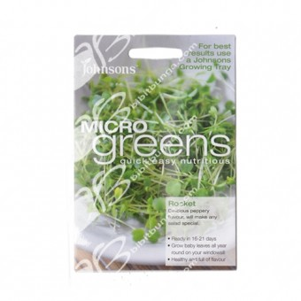 Benih Microgreens Rocket 2000 Biji – Johnsons Seeds