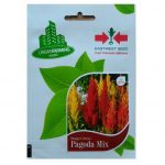 Benih Personal Pouch Celosia Pagoda Mix 15 Biji – Panah Merah