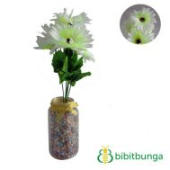 Bunga Plastik Aster Bangkok Light Green