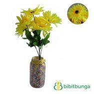Bunga Plastik Aster Bangkok Yellow