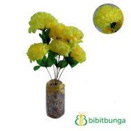 Bunga Plastik Krisan Kuning