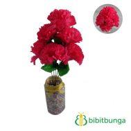 Bunga Plastik Krisan Pink