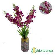 Bunga Plastik Lavender Purple