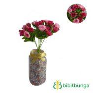 Bunga Plastik Mawar Barbie