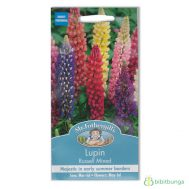 Benih Mr Fothergills Lupin Russell Mixed