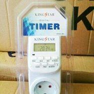 Digital Timer Switch (Stop Kontak Otomatis) King Star