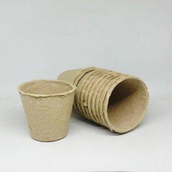 Pot Ramah Lingkungan (Peat Pot) – 6 cm