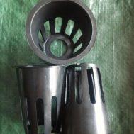 Netpot Hitam (Tinggi 7 cm Diameter 5,5 cm)