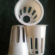 Netpot Putih (Tinggi 7 cm Diameter 5,5 cm)