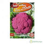 Benih Kembang Kol Ungu (Violet Cauliflower) 1000 Biji – Sais Seeds