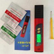 pH Meter Air PH-01 Auto Kalibrasi + Buffer (Tanpa Box)
