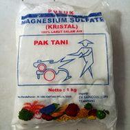 Pupuk Magnesium Sulfat (MgSO4) Cap Pak Tani – 1 Kg