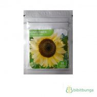 Benih Sunflower Lemon Queen 10 Biji – Kemasan Foil