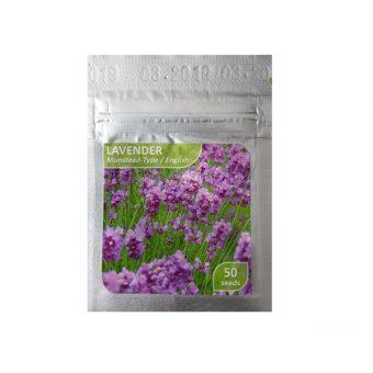 Benih Lavender Munstead 50 Biji – Kemasan Foil