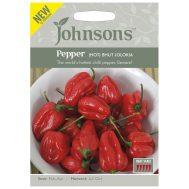 Benih Pepper (Hot) Bhut Jolokia 10 Biji – Johnsons Seeds