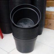 Pot Bunga / Tanaman Hitam 32 Cm