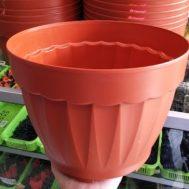 Pot Bunga / Tanaman Coklat 30 cm