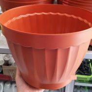 Pot Bunga / Tanaman Coklat 35 cm