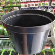 Pot Bunga / Tanaman Hitam 35 cm