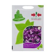 Benih Impatiens Balance Violet Star 20 Biji – Panah Merah
