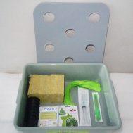 Paket Starter Kit Hidroponik 8 Lubang