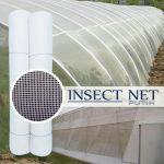 Insect Net / Screen Net Putih 1 Roll (1 x 50 meter) – Mesh 28