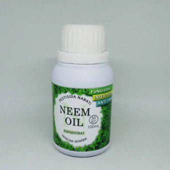 Minyak Mimba (Neem Oil) – Pestisida Nabati Organik – 100ml