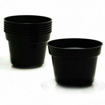 Pot Bunga / Tanaman Hitam 30 cm