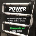 Hidroponik Set 24 Lubang Sistem DFT (Pipa & Fitting) – POWER